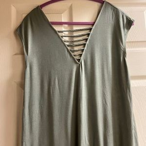 Green-gray American Eagle soft n sexy tank